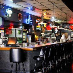 Bar & Grill at Bumpers Billiards in Huntsville, Alabama