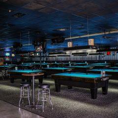Diamond Pool Tables at Bumpers Billiards in Huntsville, Alabama